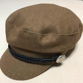 SPIGAキャスケット帽子新品未使用