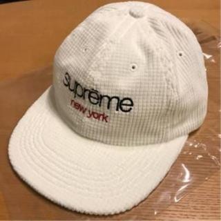 シュプリーム(Supreme)のSupreme Waffle Cord Classic Logo 6-Panel(キャップ)