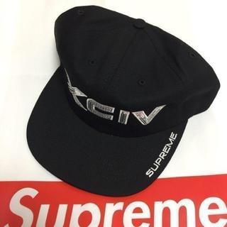 シュプリーム(Supreme)のSupreme XCIV 6-Panel 黒 Black(キャップ)
