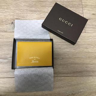 グッチ(Gucci)のGUCCI 新品 パスケース 定期入れ(名刺入れ/定期入れ)