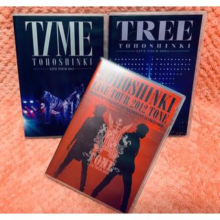 トウホウシンキ(東方神起)の美品 東方神起 ライブツアー DVD 3種セット(ミュージック)