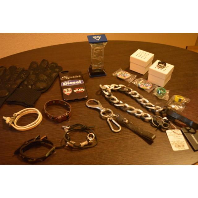 DIESEL - DIESEL ノベルティ&非売品含む リング手袋ブレスレットポイント交換の通販 by DIESEL's shop|ディーゼルならラクマ