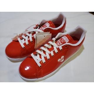 アディダス(adidas)のAdidas Stan Smith 赤 ハート スタンスミス レディース(スニーカー)