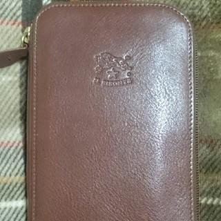 イルビゾンテ(IL BISONTE)の美品イルビゾンテ長財布(財布)