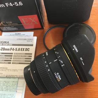 ペンタックス(PENTAX)のSIGMA 10-20mm F4-5.6 EX DC PENTAX Kマウント(レンズ(ズーム))