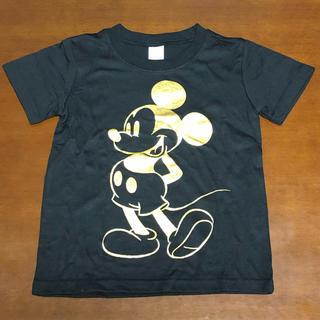 ディズニー(Disney)の【新品】ミッキープリントTシャツMickeyキッズトップス ディズニー(Tシャツ/カットソー)
