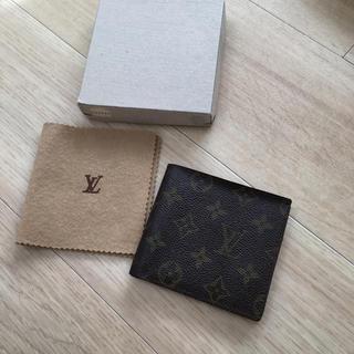 ルイヴィトン(LOUIS VUITTON)のルイヴィトン 薄型折れ財布(財布)