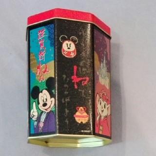 ディズニー(Disney)のディズニー 缶 八角形(小物入れ)
