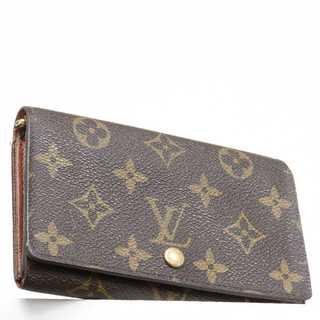ルイヴィトン(LOUIS VUITTON)の交渉歓迎 本物 ルイヴィトン モノグラム 二つ折り財布(財布)