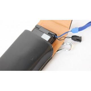 ガラケー ベルトケース 縦タイプ ガラケー 携帯 ベルトホルダー レザーケース(その他)