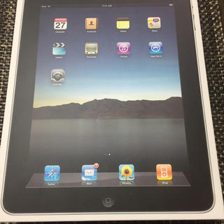 アイパッド(iPad)の初代iPad wi-fiモデル 64GB OS5.1.1(タブレット)