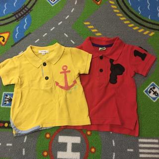 セラフ(Seraph)のポロシャツ  Tシャツ  セラフ コンベックス ふたつ  80センチわ(Tシャツ)