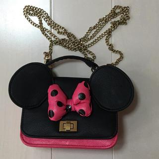 ディズニー(Disney)のミニー バッグ(ショルダーバッグ)