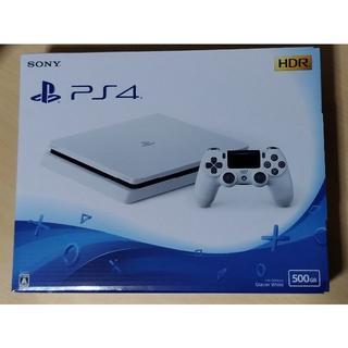 PlayStation4 - PS4 グレイシャーホワイト 500GB 新品