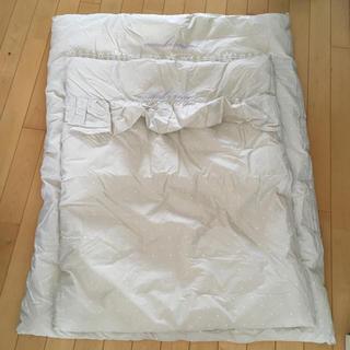 コンビミニ(Combi mini)のコンビミニ ベビー 肌布団 掛け布団 カバー 新品未使用(ベビー布団)