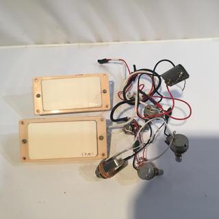 EMG pickup +LP用アッセンブリーセット(パーツ)