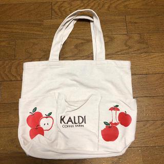 カルディ(KALDI)のカルディ りんごトート(コーヒー)