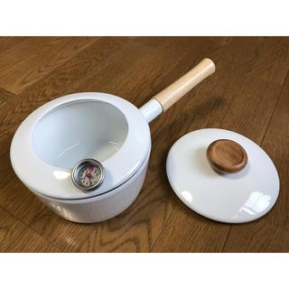 フジホーロー(富士ホーロー)の 天ぷら鍋  富士ホーロー製(鍋/フライパン)