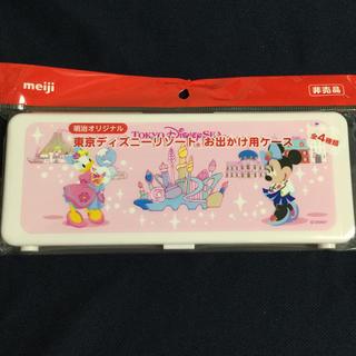 Disney - 【非売品】明治らくらくキューブ♡お出かけ用ケース♡ミニー&デイジー
