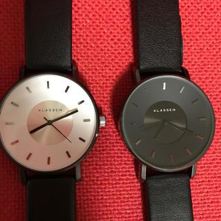 Daniel Wellington - 【新品】klasse14クラス14 腕時計 白+黒 2本セット 42㎜