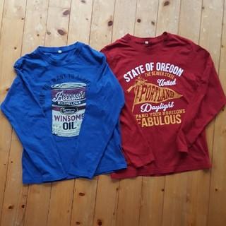 シマムラ(しまむら)のボーイズTシャツ 160㎝ 2枚(Tシャツ/カットソー)