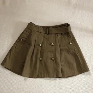 バナーバレット(Banner Barrett)のバナーバレット BannerBarrett◆美品 ベルト付き ふんわりスカート(ミニスカート)