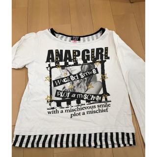 ANAP ガール  長袖Tシャツ