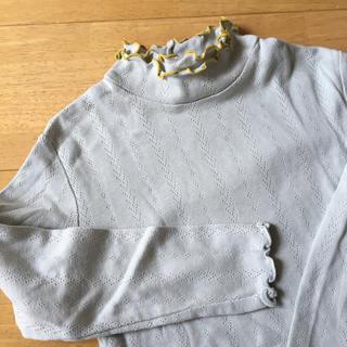 コンビミニ(Combi mini)のコンビミニ カットソー ひらひら(Tシャツ/カットソー)