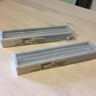 ムジルシリョウヒン(MUJI (無印良品))の無印良品 ネックレス・ピアスケース ベロア内箱仕切り・リング用2個セット(その他)