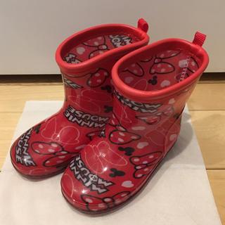 ミニー 長靴 レインブーツ 14cm(長靴/レインシューズ)
