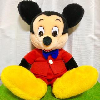 ミッキーマウス - 大きめレトロミッキー💕ぬいぐるみ