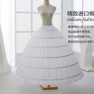 ウエディングドレス用 パニエ R93 ボリューム調整可能