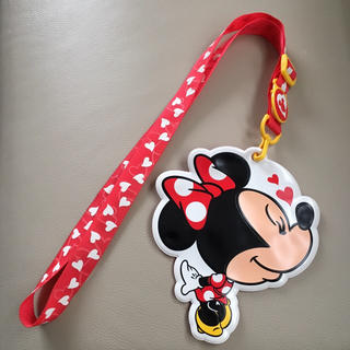 ディズニー(Disney)のディズニーランド ミニー パスケース(パスケース/IDカードホルダー)