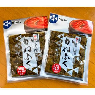 博多名物 明太からし高菜  2袋♫(漬物)