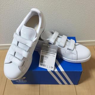 アディダス(adidas)のadidas スタンスミス ベルクロ オールレザー 新品 23.5cm(スニーカー)