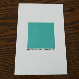 ティファニー(Tiffany & Co.)のTiffany ポストカード(カード/レター/ラッピング)