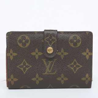 ルイヴィトン(LOUIS VUITTON)の交渉歓迎 本物 ルイ ヴィトン モノグラム がま口二つ折り財布 217(財布)