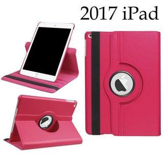 タブレット ケース iPad 2017 第5世代 9.7 インチ ローズ(iPadケース)