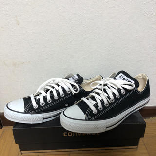 コンバース(CONVERSE)のCONVERSE ALL STAR OX(BLACK)(スニーカー)