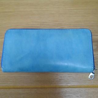バギーポート(BAGGY PORT)のバギーポート 藍染 ラウンドファスナー長財布(長財布)