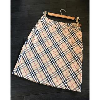 バーバリー(BURBERRY)の美品❣️BURBERRY LONDON バーバリー スカート(ひざ丈スカート)