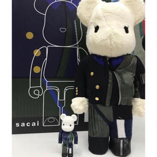 MEDICOM TOY - Sacai Be@rbrick 100% 400%セット 新品未開封