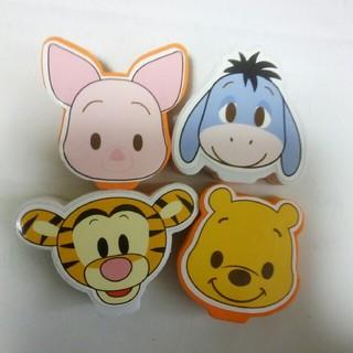 ディズニー(Disney)のハンコセット(プーさん他4種)(はんこ)