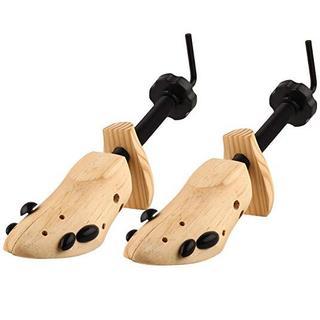天然木製 脱臭 シューキーパー L 26cm~27.5cm対応 L32(その他)
