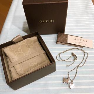グッチ(Gucci)のGUCCI ネックレス♡(ネックレス)