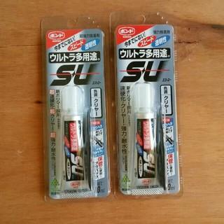 ウルトラ多用途SU10ml 2個セット*強力接着剤(その他)
