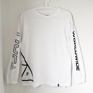 ハフ(HUF)のHUF ロンT M ホワイト 長袖 メンズ  ハフ (Tシャツ/カットソー(七分/長袖))