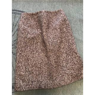 ハロッズ(Harrods)のハロッズ ウール スカート サイズ2 9号(ひざ丈スカート)