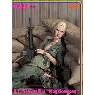 ACETOYS米軍ベトナム戦争 1/6スケール美人兵士フルセット13029(SF/ファンタジー/ホラー)