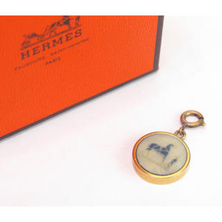 エルメス(Hermes)のエルメス コロゾチャーム ペンダントヘッド ネックレスヘッド hermes(チャーム)